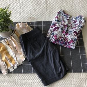 Tunic and short bundle